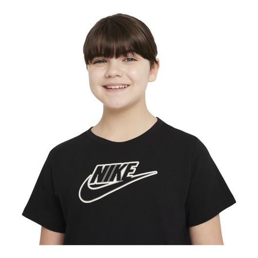 Nike Sportswear Futura Short-Sleeve (Girls') Çocuk Elbise