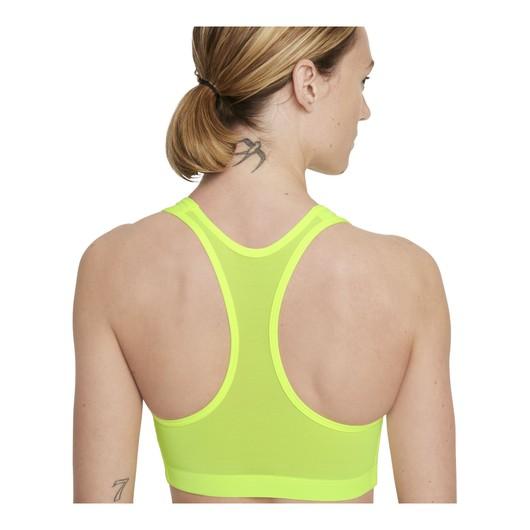 Nike Air Dri-Fit Swoosh Reflective Medium-Support 1-Piece Kadın Büstiyer