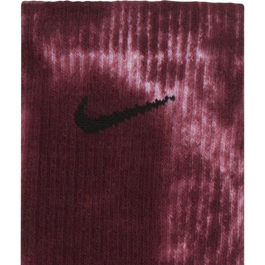 Nike Everyday Plus Cushioned Tie-Dye Crew (2 Pairs) Unisex Çorap