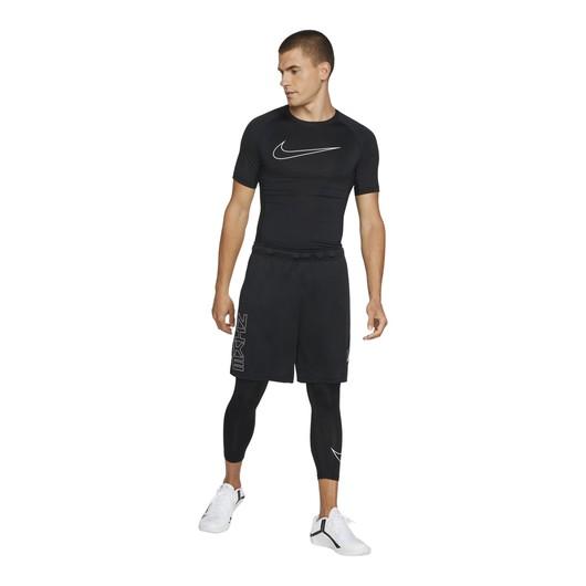 Nike Pro Dri-Fit Tight-Fit Short-Sleeve Erkek Tişört