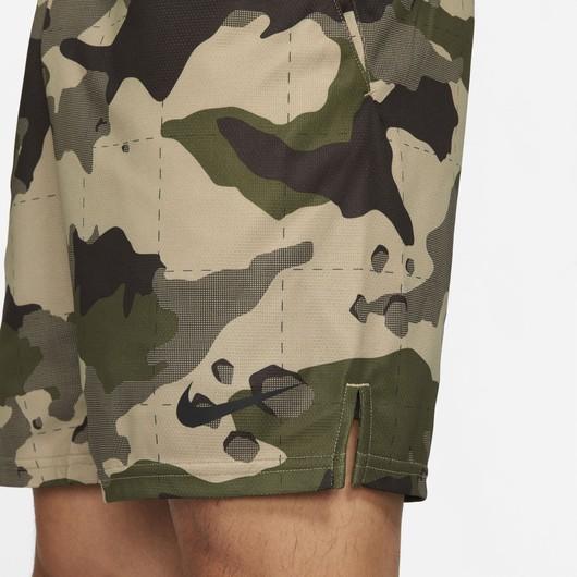 Nike Dri-Fit Camouflage All Over Print 5.0 Training Erkek Şort
