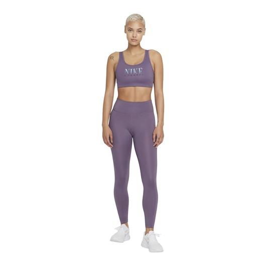 Nike Dri-Fit Swoosh Medium-Support 1-Piece Pad Kadın Büstiyer