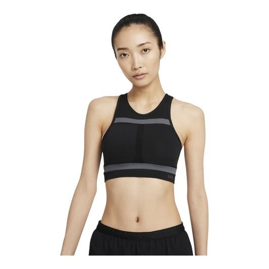 Nike Dri-Fit Swoosh Run Division Medium-Support 1-Piece Pad Longline Kadın Büstiyer