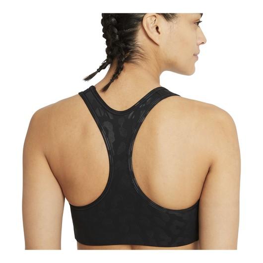 Nike Pro Dri-Fit Swoosh Lepard Shine Medium-Support 1-Piece Kadın Büstiyer