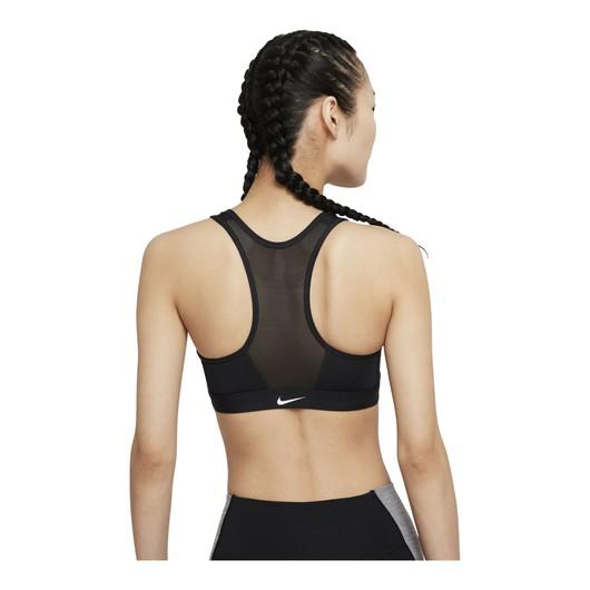 Nike Dri-Fit Swoosh Medium-Support Padded Zip Front Closure Kadın Büstiyer