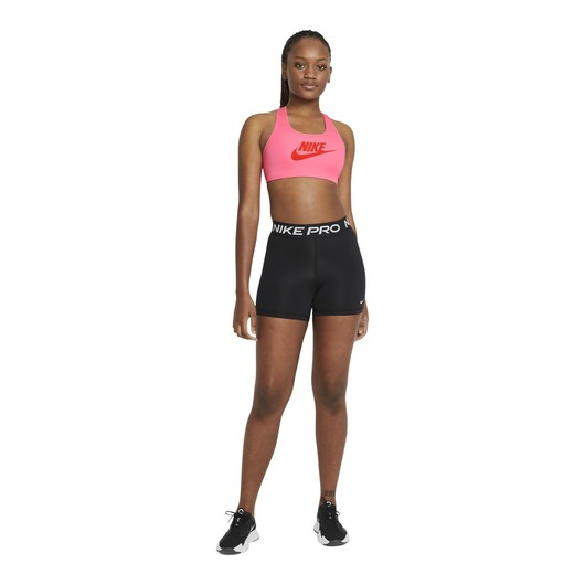 Nike Dri-Fit Swoosh Medium-Support Non-Padded Kadın Büstiyer