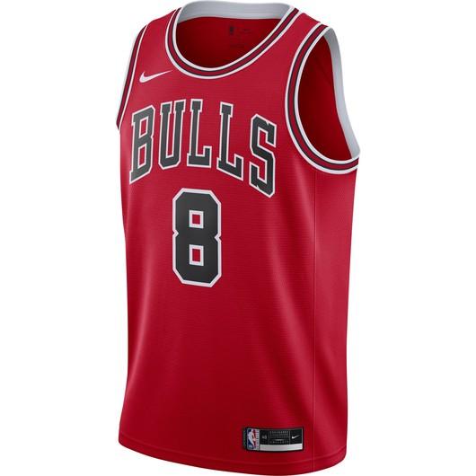 Nike Lauri Markkanen Bulls Icon Edition 2020 NBA Swingman Jersey Erkek Forma