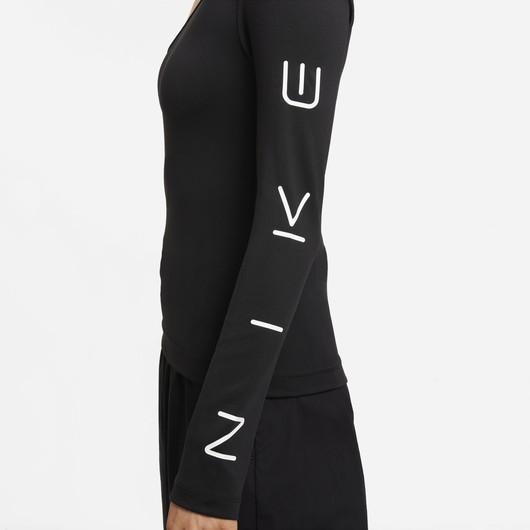 Nike Sportswear Asymmetrical Long-Sleeve Kadın Tişört
