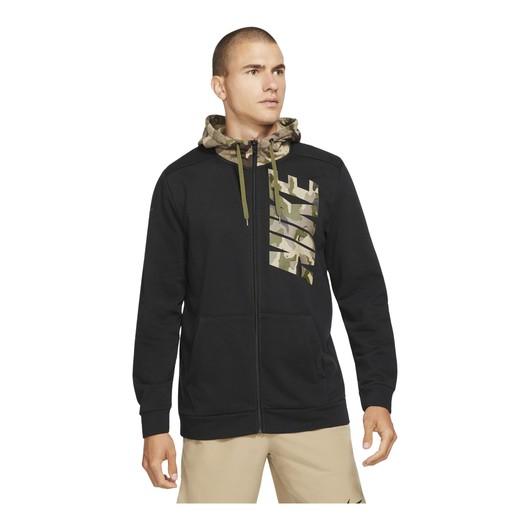 Nike Dri-Fit Camouflage Full-Zip Hoodie Erkek Sweatshirt