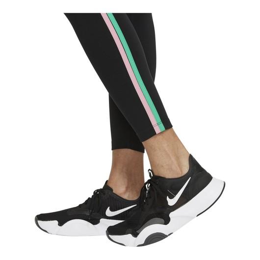 Nike Dri-Fit One Mid-Rise 7/8 Taped Kadın Tayt