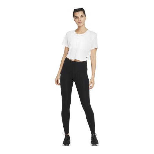 Nike Dri-Fit One Standard-Fit Short-Sleeve Kadın Tişört