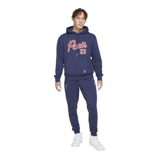Nike Paris Saint-Germain Statement Fleece Hoodie Erkek Sweatshirt