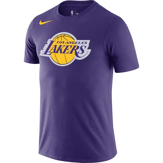 Nike Dri-Fit Los Angeles Lakers Essential Logo NBA Short-Sleeve Erkek Tişört