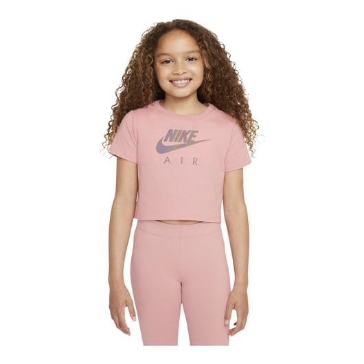 Nike Sportswear Air Crop Short-Sleeve (Girls') Çocuk Tişört