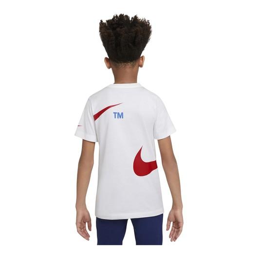 Nike Sportswear Swoosh Pullover Semi-Brushed-Back Short-Sleeve (Boys') Çocuk Tişört
