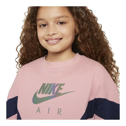 Nike Air French Terry (Girls') Çocuk Sweatshirt