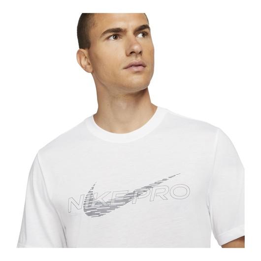 Nike Pro Dri-Fit Graphic Short-Sleeve Erkek Tişört