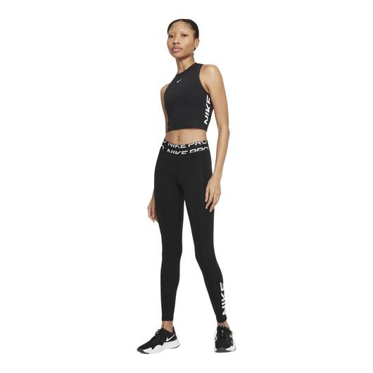 Nike Pro Dri-Fit Mid-Rise Graphic Training Kadın Tayt