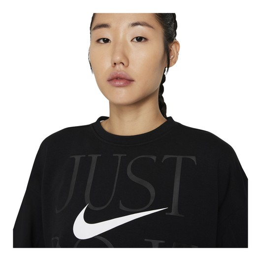 Nike Dri-Fit Get Fit ''Just Do It'' Training Kadın Sweatshirt