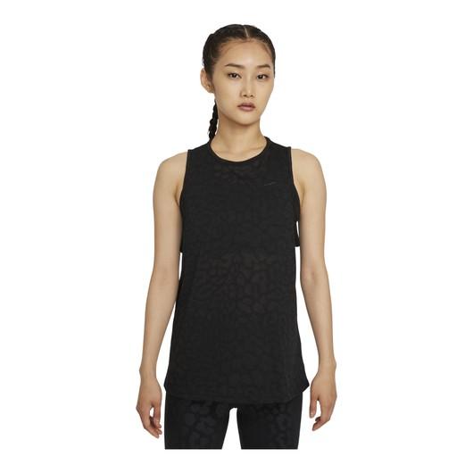 Nike Pro Dri-Fit Seasonal Lepard Printed Training Kadın Atlet