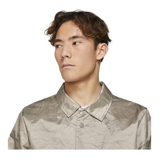 Nike Sportswear Style Essentials Long Coaches' Full-With Snap Fastener Erkek Ceket