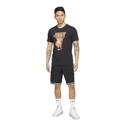Nike Dri-Fit ''Just Do It'' Basketball Short-Sleeve Erkek Tişört