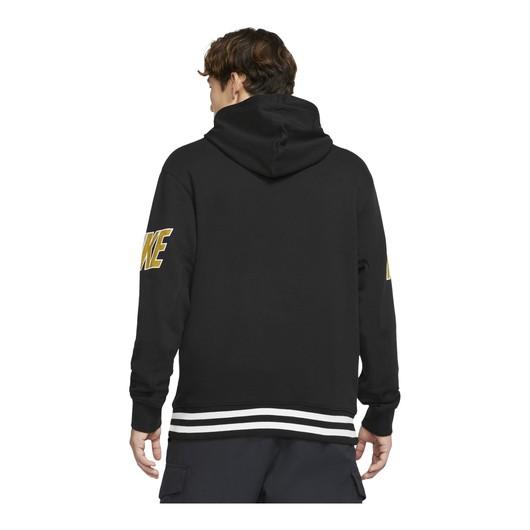 Nike Sportswear Doubled-Up Print French Terry Pullover Hoodie Erkek Sweatshirt