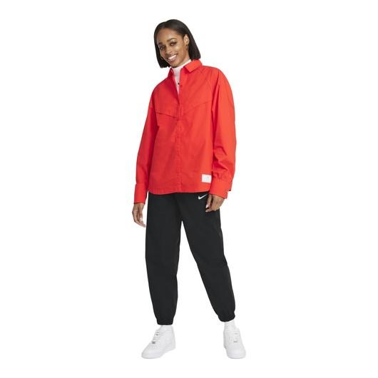 Nike Sportswear Icon Clash Woven Long-Sleeve Kadın Gömlek