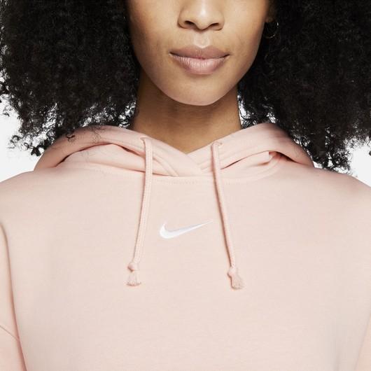 Nike Sportswear Collection Essentials Hoodie (Plus Size) Kadın Sweatshirt