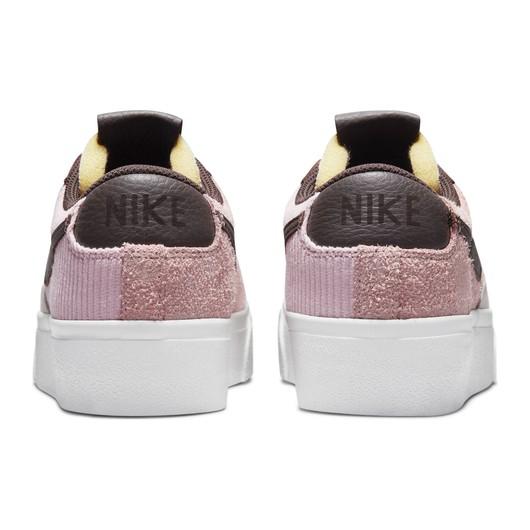 Nike Blazer Low Platform ''Leather and Velvet Upper'' Kadın Spor Ayakkabı