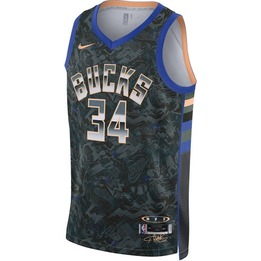 Nike Giannis Antetokounmpo Select Series NBA Jersey Erkek Forma