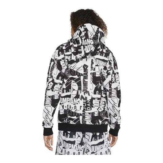 Nike Jordan Essentials Fleece Printed Hoodie Erkek Sweatshirt