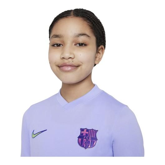 Nike FC Barcelona 2021-2022 Stadyum Deplasman Çocuk Forma