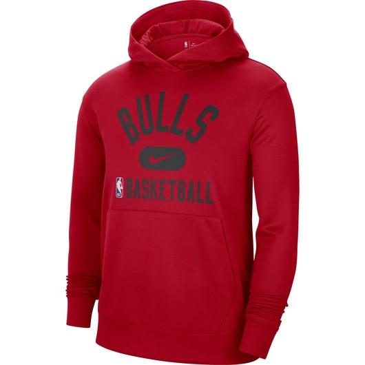 Nike Dri-Fit Chicago Bulls Spotlight NBA Pullover Hoodie Erkek Sweathirt