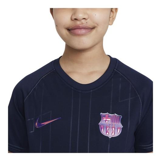 Nike FC Barcelona Pre-Match Deplasman Short-Sleeve Çocuk Tişört