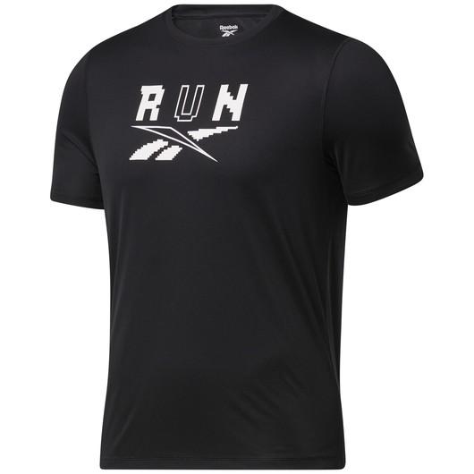 Reebok Speedwick Graphic Running Short-Sleeve Erkek Tişört