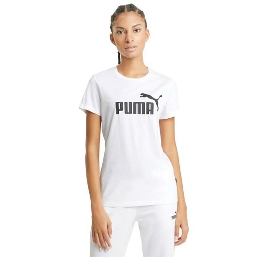 Puma Essential Logo Short-Sleeve Kadın Tişört