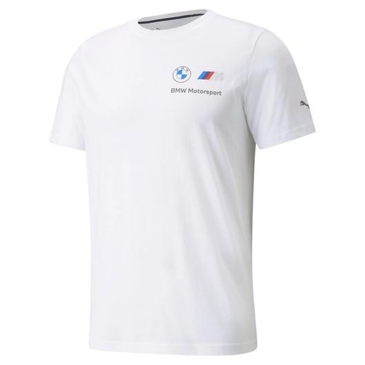 Puma BMW M Motorsport ESSENTIALS Small Logo Short-Sleeve Erkek Tişört