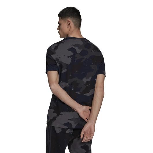 adidas Graphics Camouflage Allover Print Short Sleeve Erkek Tişört