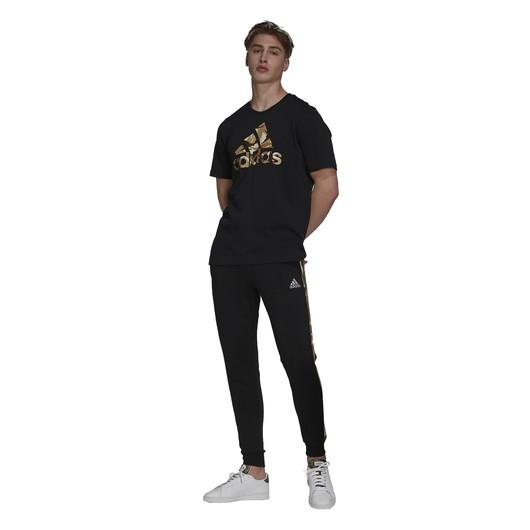 adidas Essentials Camouflage-Print Short-Sleeve Erkek Tişört