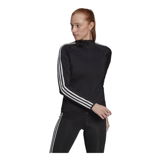 adidas AEROREADY Designed 2 Move 3-Stripes Full-Zip Kadın Ceket