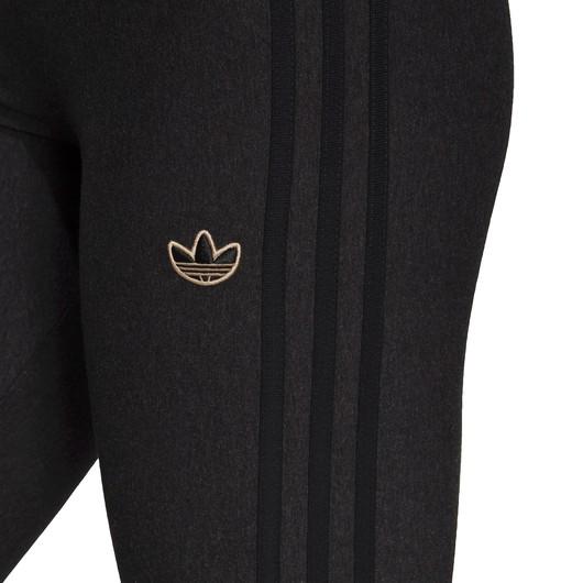 adidas Comfy in Single Jersey with Metallic Trefoil Badge Kadın Tayt
