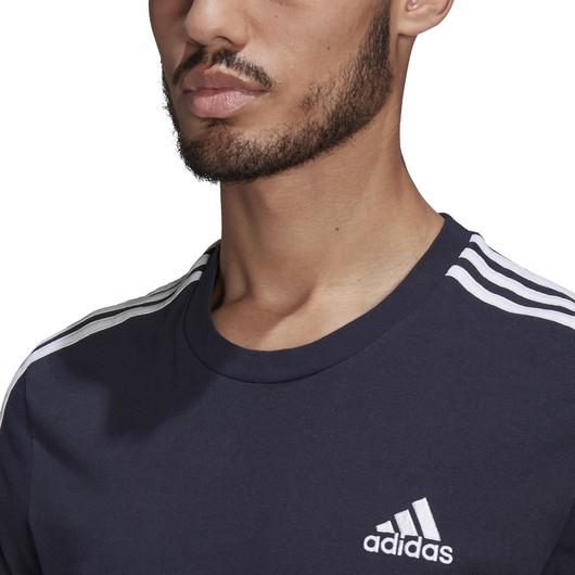 adidas Essentials 3-Stripes Short-Sleeve Erkek Tişört