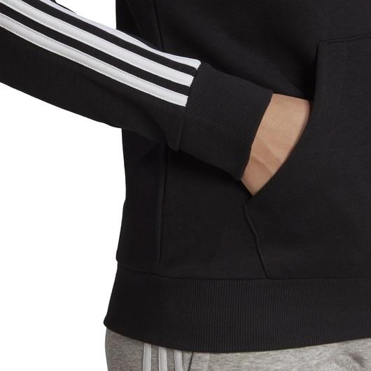 adidas Essentials French Terry 3-Stripes Full-Zip Hoodie Kadın Sweatshirt