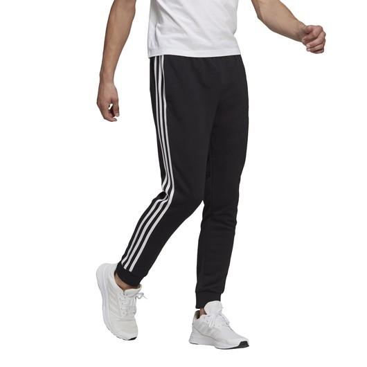 adidas Essentials French Terry Tapered Cuff 3-Stripes Erkek Eşofman Altı