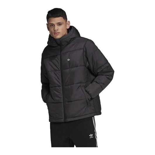 adidas Padded Puffer Full-Zip Hoodie Erkek Ceket