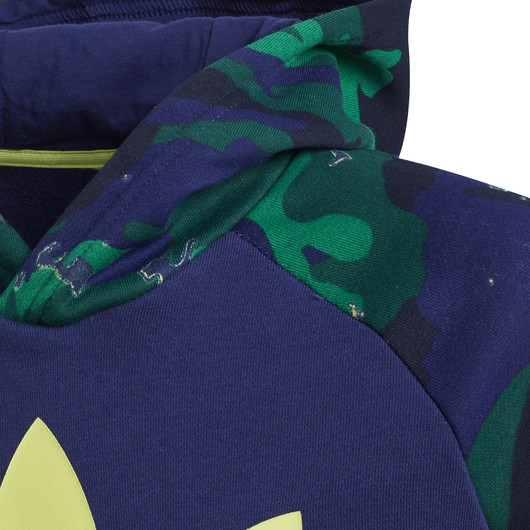 adidas Camouflage Print Hoodie (Boys') Çocuk Sweatshirt