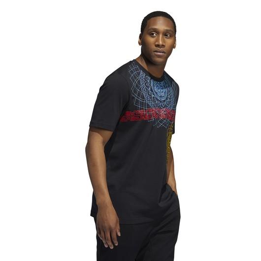 adidas Dame D.O.L.L.A. Extply GM Short-Sleeve Erkek Tişört