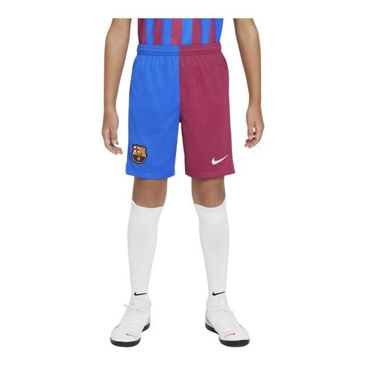 Nike FC Barcelona 2021-2022 Stadyum İç Saha-Deplasman Çocuk Şort