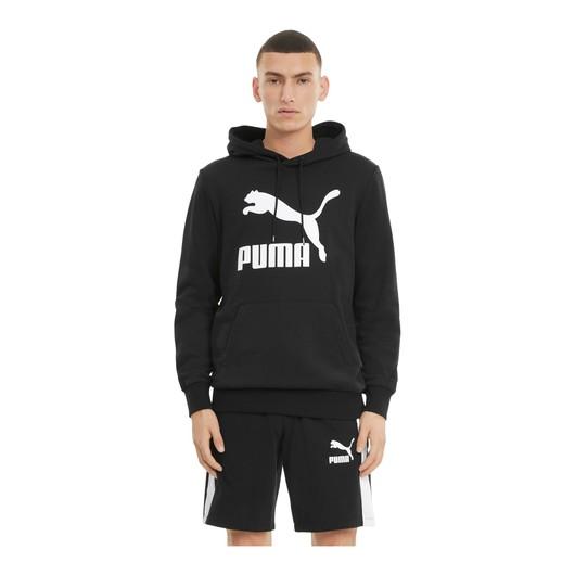 Puma Classics Logo Hoodie Erkek Sweatshirt